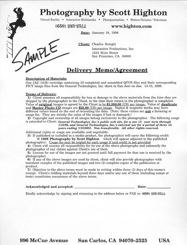 samples of business memorandums