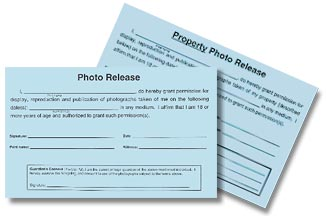 Now With Photo Property Release Forms
